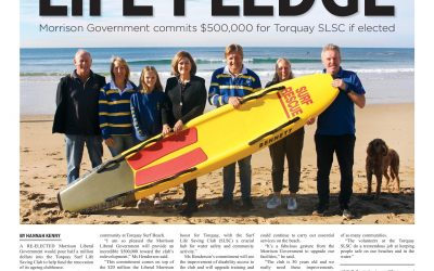 Morrison Government will provide $500,000 for Torquay Surf Life Saving Club